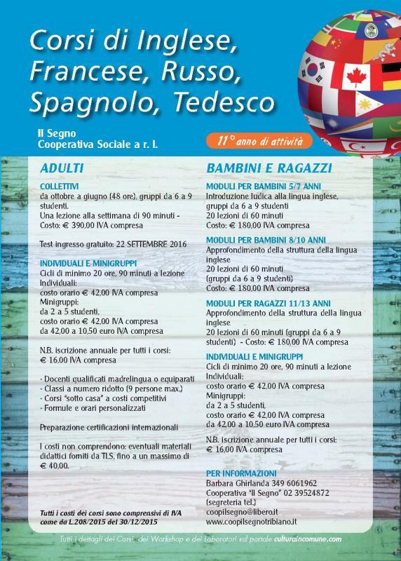 Citt di paullo for Corsi in citta milano